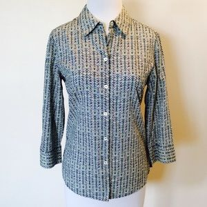 Cool FoxCroft Button Top